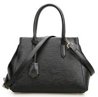 2014 Winter new Women's new Genuine leather big handbags Black elegant shoulder bags bag Messenger bags Ladies