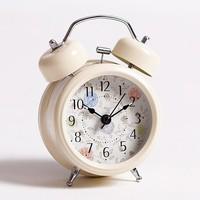 3inch Korean muted metal bell alarm clock free shipping