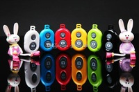 Universal Bluetooth Remote Shutter Camera Control Self-timer Shutter for iPhone 6 4 5 5s 5c samsung Galaxy S4 I9500 ios7/Android