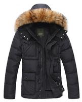 2014 Fashion Winter Men Thickening down Jacket Outdoors Waterproof Sport Coat Free Shipping 170