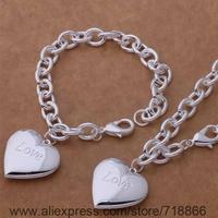 AS388 925 sterling silver Jewelry Sets bracelet necklace /awyajofa biqajzxa