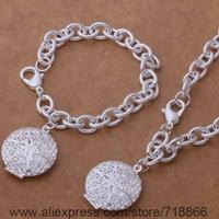 AS392 925 sterling silver Jewelry Sets bracelet necklace /axcajoja biuakaba