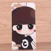 Free shipping huawei G6 - c00 p6mini bumpers shell cartoon hard shell set of coloured drawing or pattern