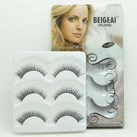 Best Seller 3Pairs False Eyelashes 27styles Popular  Eye Lash Glue Individual Eyelash Extension Freeshipping