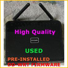 D-LINK DIR-615 DD WRT WiFi Wireless Router 2 Antennas 300Mbps 802.11G/B/N 4 LAN Ports Pre-installed DD-WRT Firmware(China (Mainland))