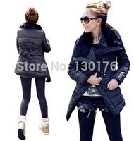 Winter Coat Real Rushed Long Zipper 2014 Wonderful Try Autumn And Winter Waist High Code Lapel Coat Jacket Aliexpress Sellers