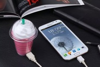 5000mAh starbucks Drinks cup Power Bank External Battery Pack Portable Charger For iPhone Samsung Galaxy S4 S3 Xiaomi HTC Phone