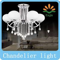Modern Crystal Chandelier 6 Lights Lamp Home decoration Lighting for Living Room Bedroom Hallway sitting room7