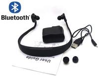 Free shipping 2014  black Black Sport Bluetooth Stereo Headset Earphone Headphone For Nokia BH505 Samsung HTC LG