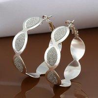 Hot Sale!!Free Shipping 925 Silver Earring,Fashion Sterling Silver Jewelry New Style Earrings SMTE480