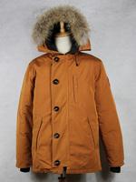 Big Removable Raccoon fur 6 color 2014 Brand New Mens Goose Down Jacket Warm Winter CHATEAU PARKA -40 temperature