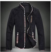 Free shipping Spring and Autumn men's British tide plus fertilizer XL jacket M-8XL