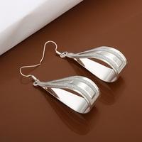 Hot Sale!!Free Shipping 925 Silver Earring,Fashion Sterling Silver Jewelry New Style Earrings SMTE468