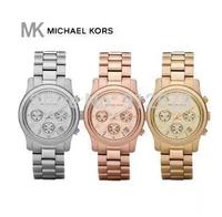 1 2015 Fashion Famous 6 styles Stainless Steel women men korss Watch with Rhinestone  brand logo wristwatch