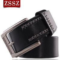 Fashionable casual male genuine leather strap genuine leather personalized belt pin buckle the trend of the waist belt