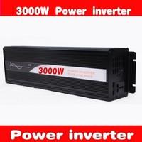 Pure sine wave inverter 3000W 24V to 220V  Solar Inverter, Power inverter, Car Inverter Converter