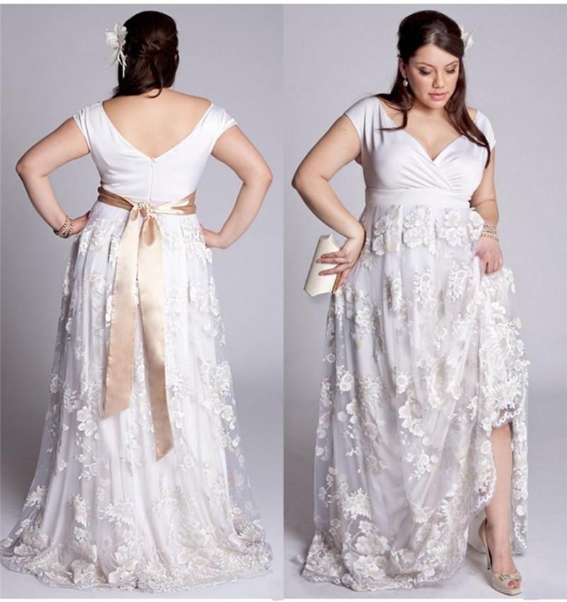 White Lace Dress White Lace Plus Size