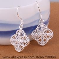 E398 Wholesale 925 sterling silver earrings , 925 silver fashion jewelry ,  /aspajjwa cjhalaoa
