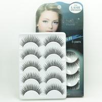 Hot 5Pairs False Eyelashes 27styles Popular  Eye Lash Glue Individual Eyelash Extension Freeshipping