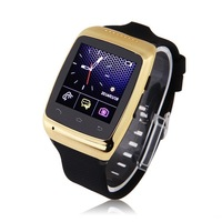 ZGPAX S15 1.54'' Bluetooth Smart Watch WristWatch Smartwatch for Samsung HTC Android Smartphone Phone Sync 8G Memory  Camera