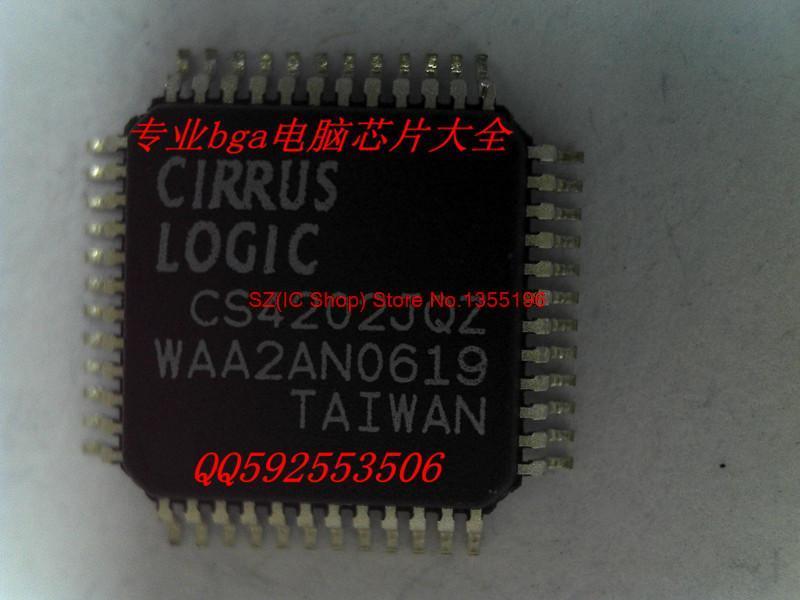 Бесплатная доставка 10 шт./лот новый оригинальный CS4202JQZ 10 шт лот бесплатная доставка при кабинете 220 в затемнения круглый мини удара светодиодные светильники