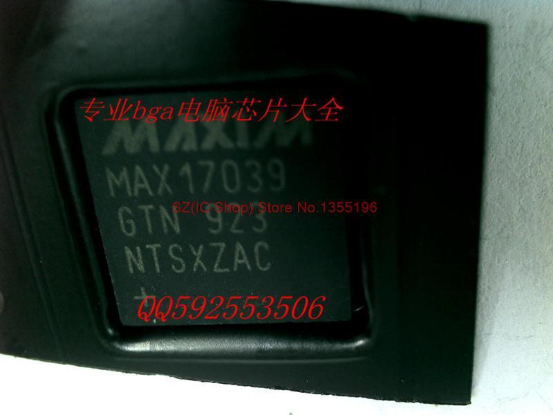 Бесплатная доставка 10 шт./лот новый оригинальный MAX17039GTN 10 шт лот бесплатная доставка при кабинете 220 в затемнения круглый мини удара светодиодные светильники