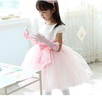 female party child formal dress flower girl wedding baby princess costume dance 2014 children's clothing