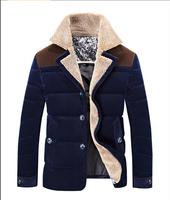 Men's coat Winter overcoat Outwear Winter down jacket hooded thick  jacket Free shipping 230