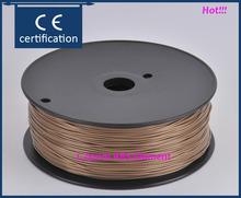 China aliexpress abs 1.75 3d filament brown color estrusora imprimante 3d laser for createbot,makerbot,reprap,etc 3d printer