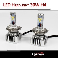 2x Plug&Play 30W 3000LM CREE LED HI/LO  H4 H4-3 HB2 9003 H7 H8/9/11 9005 9006 WHITE BULB DRL Fog HEADLIGHT NO NEED BALLAST RELAY