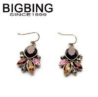BigBing Fashion drop crystal  dangle earrings fashion earring fashion jewelry nickel free Free shipping!  NA323