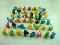 100pcs/lot GOGO Capsule Toys 3-4cm Size (mini  figures)