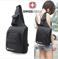 100% Original SwissGear small chest pack Satchel casual bag for tablet PC Wenger backpack SA0808