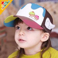 Baby hats children hats spring and summer ice cream baseball cap mesh cap