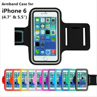 """Running Sports GYM Armband For iPhone 6 4.7"""" & 5.5"""" Free Shipping"""