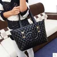 New winter hot bag down cotton bag shoulder bag rhombic cross multi-purpose fashion handbags wholesale