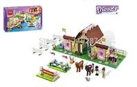 400pcs/set,free shipping original Bela friends building blocks,Maya Farm Experience DIY Construction educational toy without box