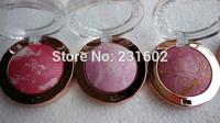 (2pcs/lot) Kiss beauty mineralize baked blush high quality brand makeup 8 color blush palette