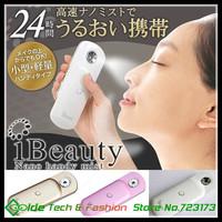 Ibeauty Mini Nano Handy Mist, Facial Steamer Sprayer Beauty Machine for Skin Care Free Shipping