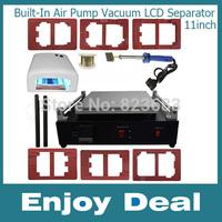 Built-In Air Pump Vacuum LCD Separator Machine for Tablet PC LCD Repair free shipping