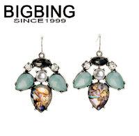 BigBing Fashion drop crystal pearl dangle earrings fashion earring fashion jewelry nickel free Free shipping!  NA325