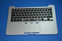 "New Original Denmark Top Case For Macbook Pro Retina 13"" A1502 Danish dk Topcase Palmrest with  Keyboard ME864LL/A  ME866LL/A"