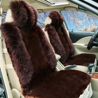 Handmade car seat cushion winter wool cushion wool seat cushion car mats set auto supplies