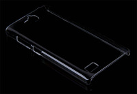 For huawei honor 3C  high quality PC Ultra-thin hard  transparent back cover case  , MOQ:1pcs . wholesale