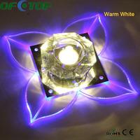 2014 Best selling Luxury fashion Chandelier crystal light modern Butterfly Lamp 3W Wall lamp ceiling lamp