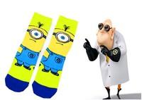 6pairs/lot wholesale Crazsox the latest style best quality original socks fashion odd future socks Minions socks