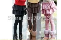 Hot sale girls autumn leggings Children's cotton pants kids baby spring/autumn trousers girls long pants 2-7 years