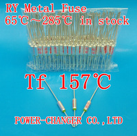 RY metal fuse temperature limiter RY Tf 157 degree Cut-off 250V 10A temperature protection temperature fuse free shipping