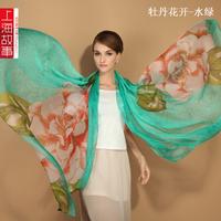 Oversized chiffon scarf free shipping gift