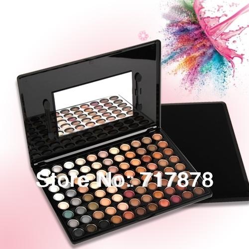 Free Shipping Trendy 88 Warm Color Eye Shadow Palette Eyeshadow Makeup Palette Kit Set(China (Mainland))